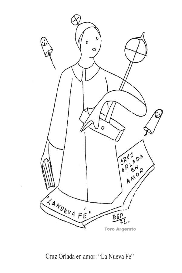 La hora de la cruz orlada. AMOR.  Bsp-im41