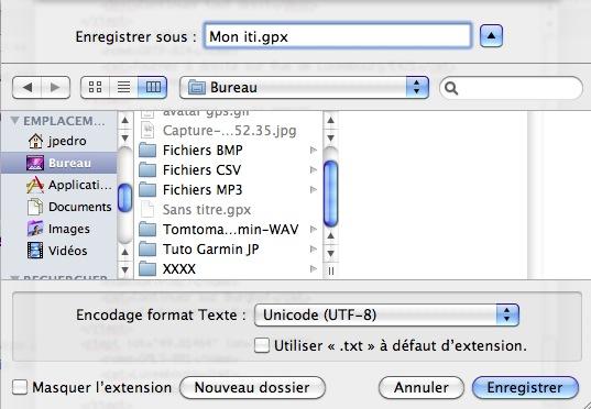 Itinéraire Google Maps sous Safari (Mac) et transfert sur GPS  Captur79