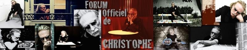 Petite interview de Christophe réalisée à partir des questions des fans du Forum Officiel. Ban1012