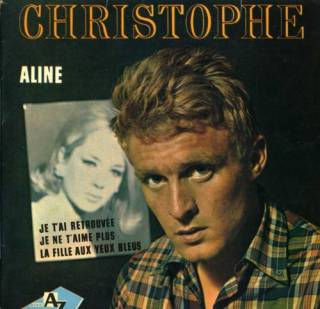 1965 Aline – Je t'ai retrouvée – Je ne t'aime plus – La fille aux yeux bleus SP Promo 1202 Clip_i11