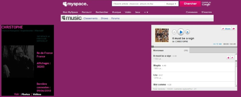 Le myspace officiel Doc711