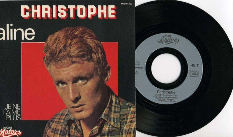 1979 Aline - Je ne t'aime plus ( Réédition )  2ème pochette rond central gris Img05110