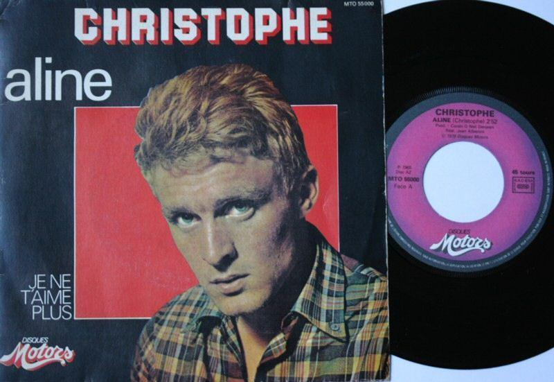 1979 Aline - Je ne t'aime plus ( Réédition ) 3ème pochette rond central rose Img05210