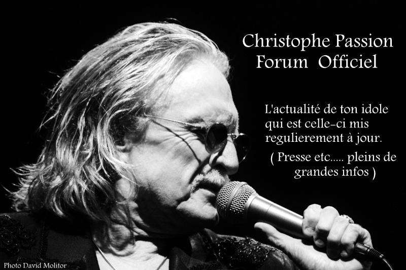 Le forum Officiel Christophe passion fête son premier anniversaire  Photo_17