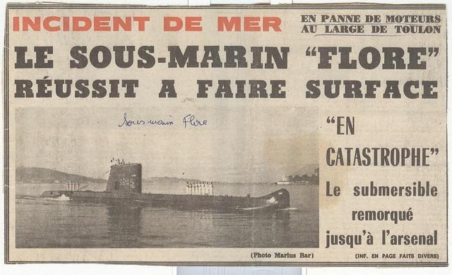 [ Divers - Les classiques ] Accident du Sous-marin FLORE Photo11