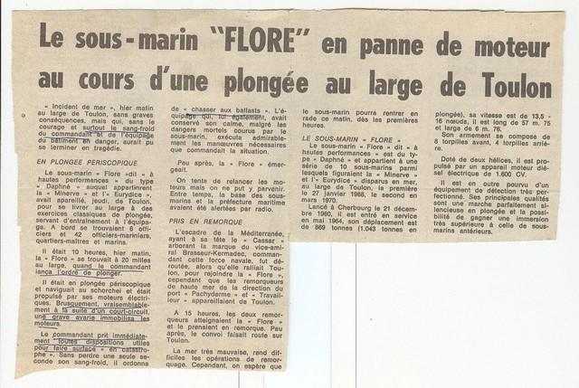[ Divers - Les classiques ] Accident du Sous-marin FLORE Photo_10