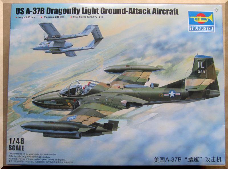Cessna A-37B Dragonfly - Trumpeter - 1/48ème Boyte11