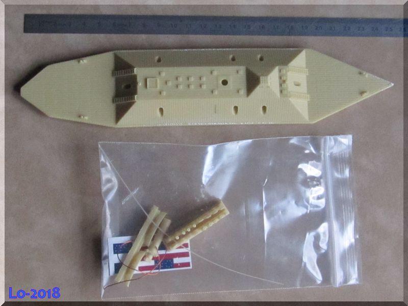 CSS Atlanta - Verlinden - 1/200ème Piyces10