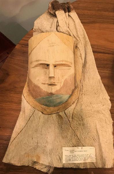 Masque-cagoule / Peuple Ticuna (Haute Amazonie) Captu100