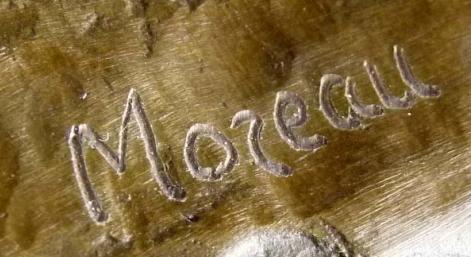 Bronze signé Auguste Moreau 1834-1917 Captu164