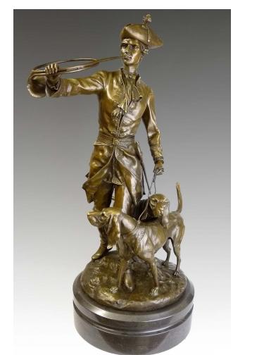 Bronze signé Auguste Moreau 1834-1917 Captu165