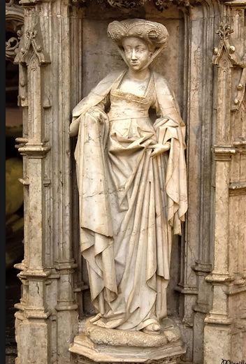 Sculpture femme identification cachet  Captur48