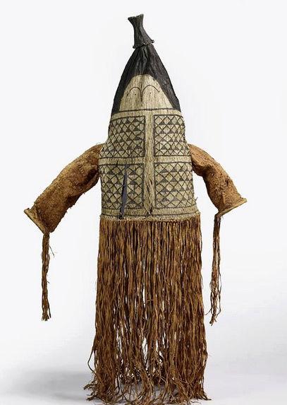 Masque-cagoule / Peuple Ticuna (Haute Amazonie) Captur97