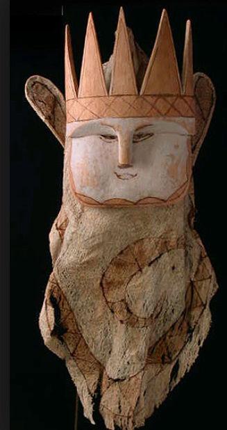 Masque-cagoule / Peuple Ticuna (Haute Amazonie) Captur99