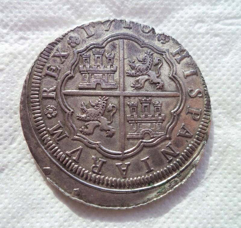8 reales de Felipe V, Madrid, 1710 Dsc00911