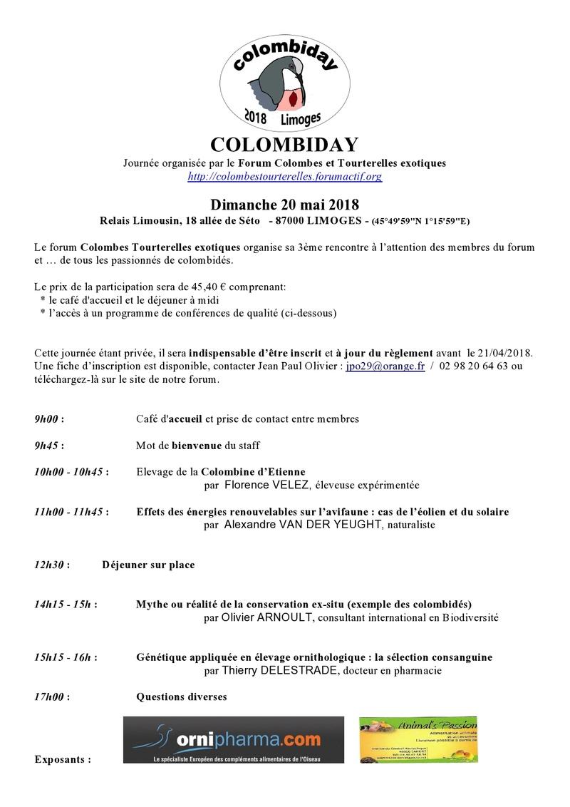 COLOMBIDAY 2018 Info-c10
