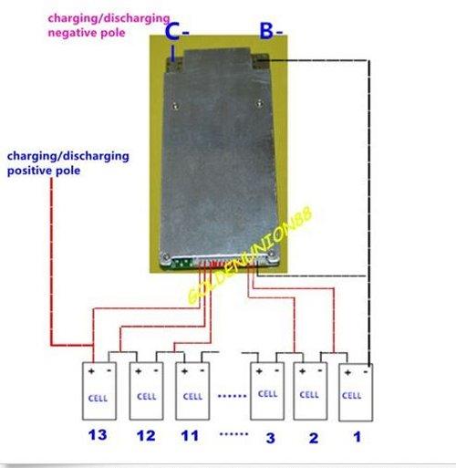 BMS et Depannage ou maintenance de pack de batterie  Bmssch10