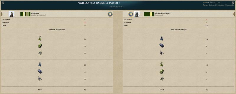 J7 – Vaillants vs général Georges : 3-1 (11-10) 2018-012