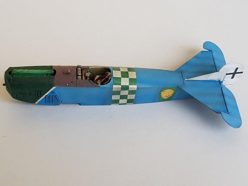 Fokker D.VIIF de Franz Büchner (Jasta. 13) au 1/48 de chez Eduard D7-1010