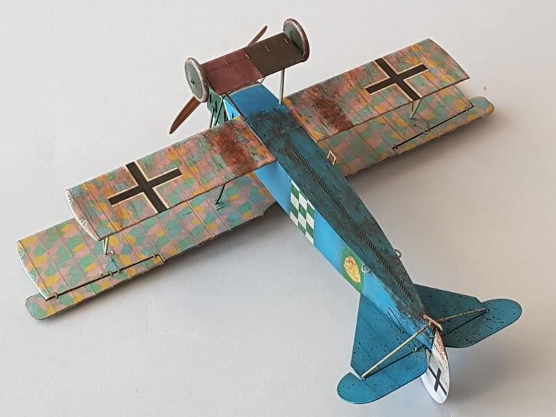 Fokker D.VIIF de Franz Büchner (Jasta. 13) au 1/48 de chez Eduard - Page 2 D7-2010