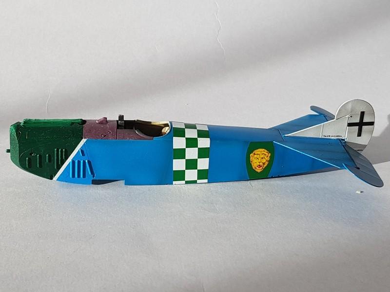 Fokker D.VIIF de Franz Büchner (Jasta. 13) au 1/48 de chez Eduard D7-310