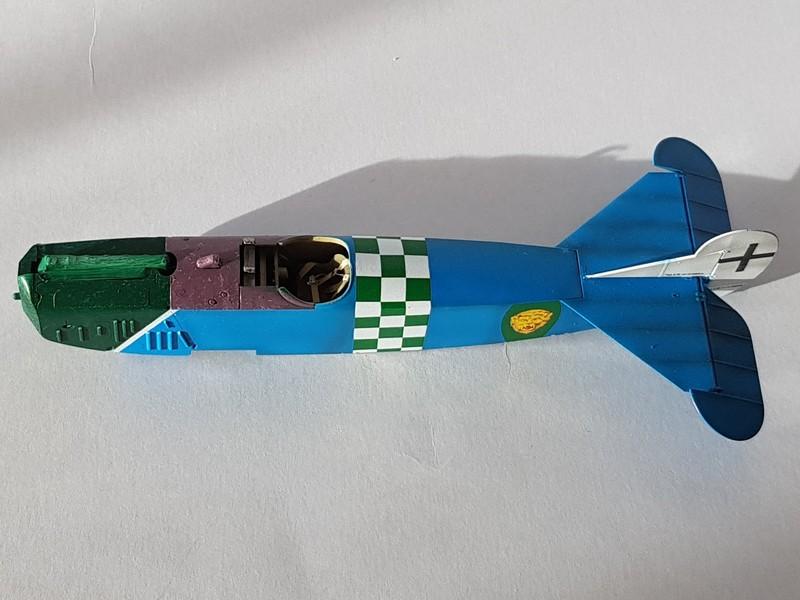 Fokker D.VIIF de Franz Büchner (Jasta. 13) au 1/48 de chez Eduard D7-410