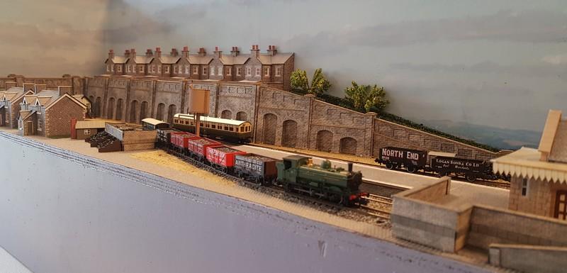 GWR branch line terminus (Echelle N / 1:148) Reseau10