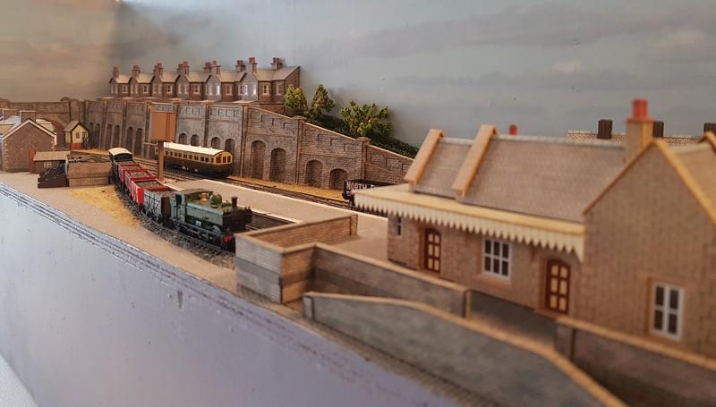 GWR branch line terminus (Echelle N / 1:148) Reseau11