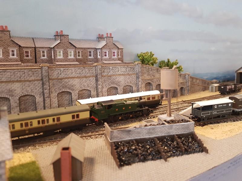 GWR branch line terminus (Echelle N / 1:148) Reseau14