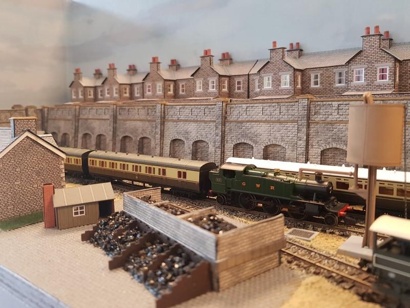 GWR branch line terminus (Echelle N / 1:148) Reseau15