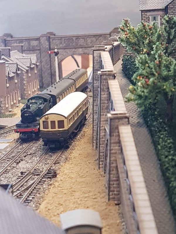 GWR branch line terminus (Echelle N / 1:148) Reseau17