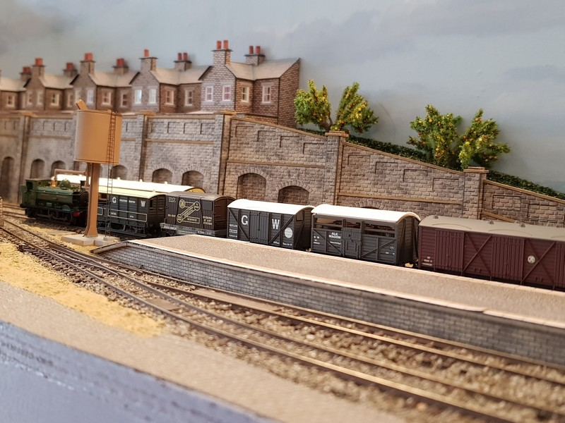 GWR branch line terminus (Echelle N / 1:148) Reseau18