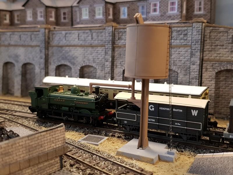 GWR branch line terminus (Echelle N / 1:148) Reseau19