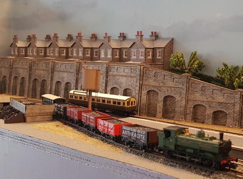 GWR branch line terminus (Echelle N / 1:148) Reseau22