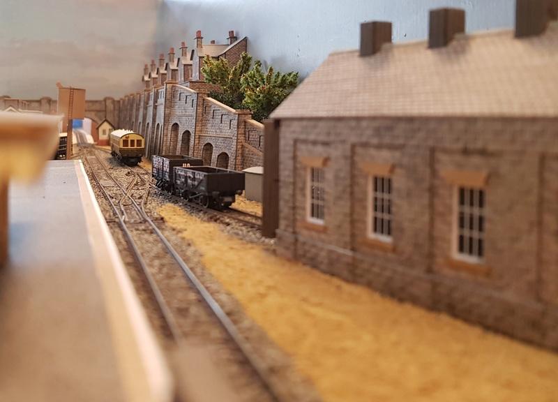 GWR branch line terminus (Echelle N / 1:148) Reseau23