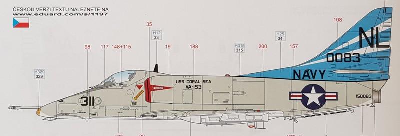 "A-4E Skyhawk ""Vietnam Scooter"" Eduard/Hasegawa 1:48 Skyhaw11"