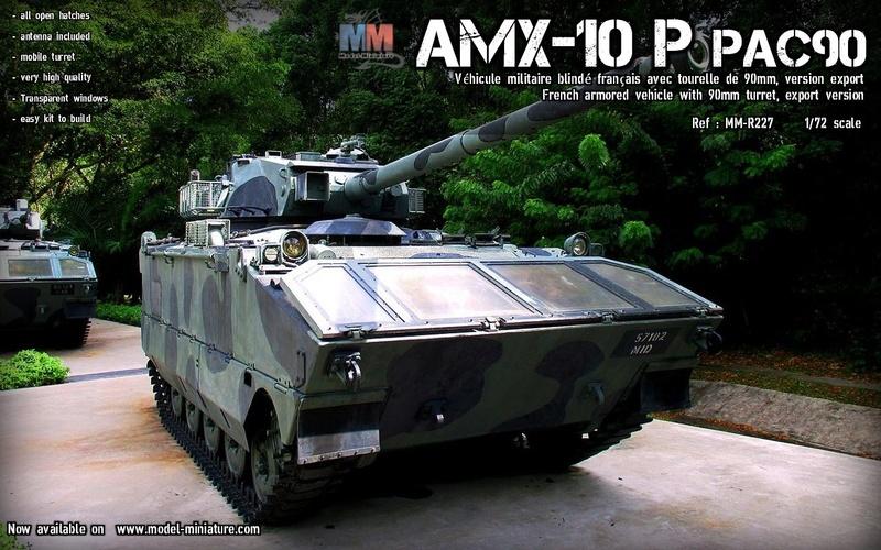 AMX-10 PAC 90mm Amx-1018