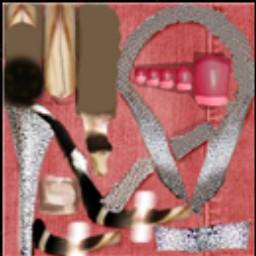 Roma Lady Heels Textur12