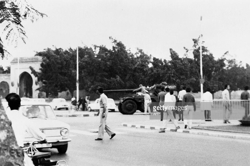 Tentative de coup d'État à Rabat et Skhirate le 10 juillet 1971  000113