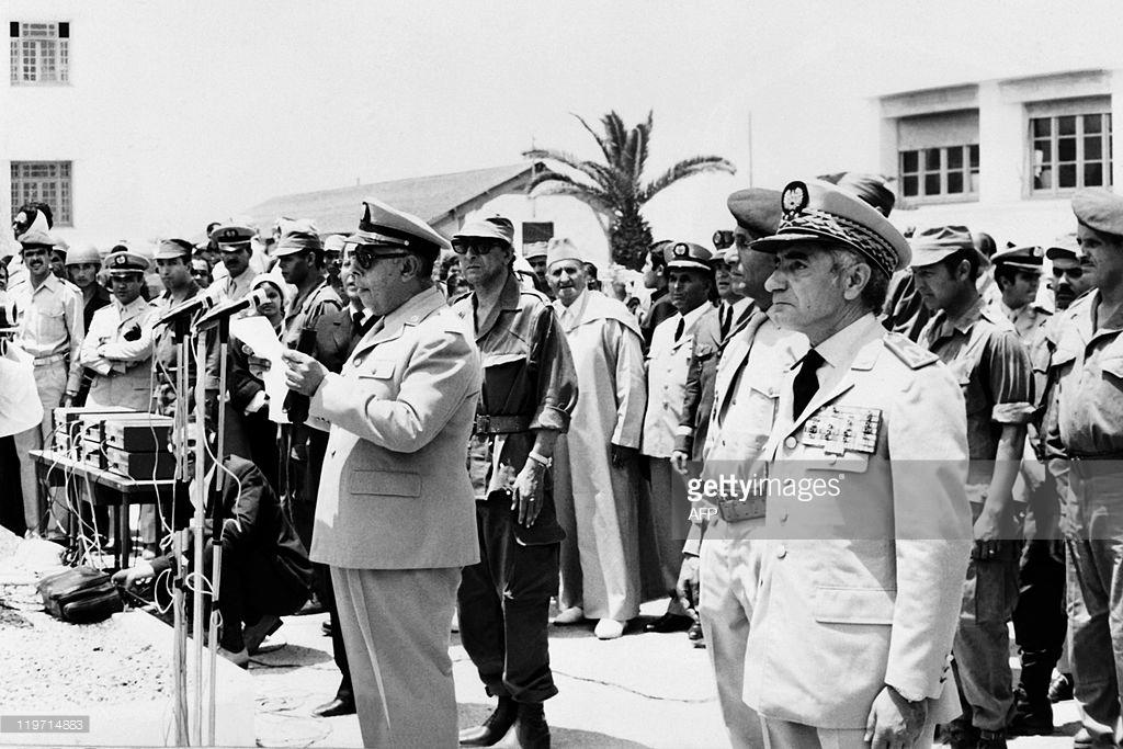 Tentative de coup d'État à Rabat et Skhirate le 10 juillet 1971  000211