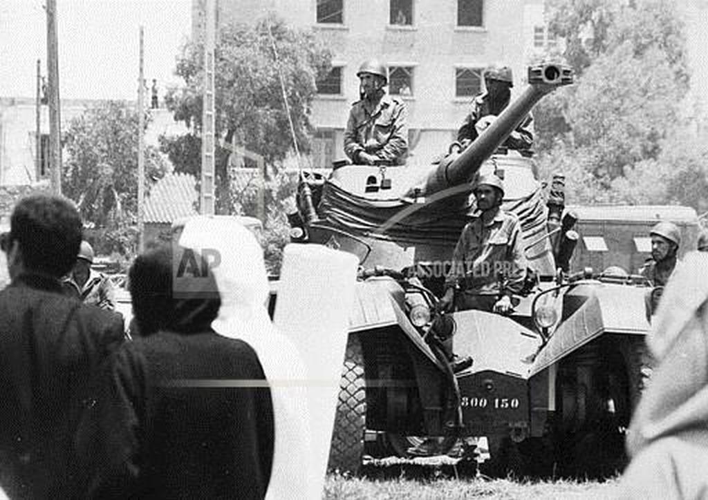 Tentative de coup d'État à Rabat et Skhirate le 10 juillet 1971  000212