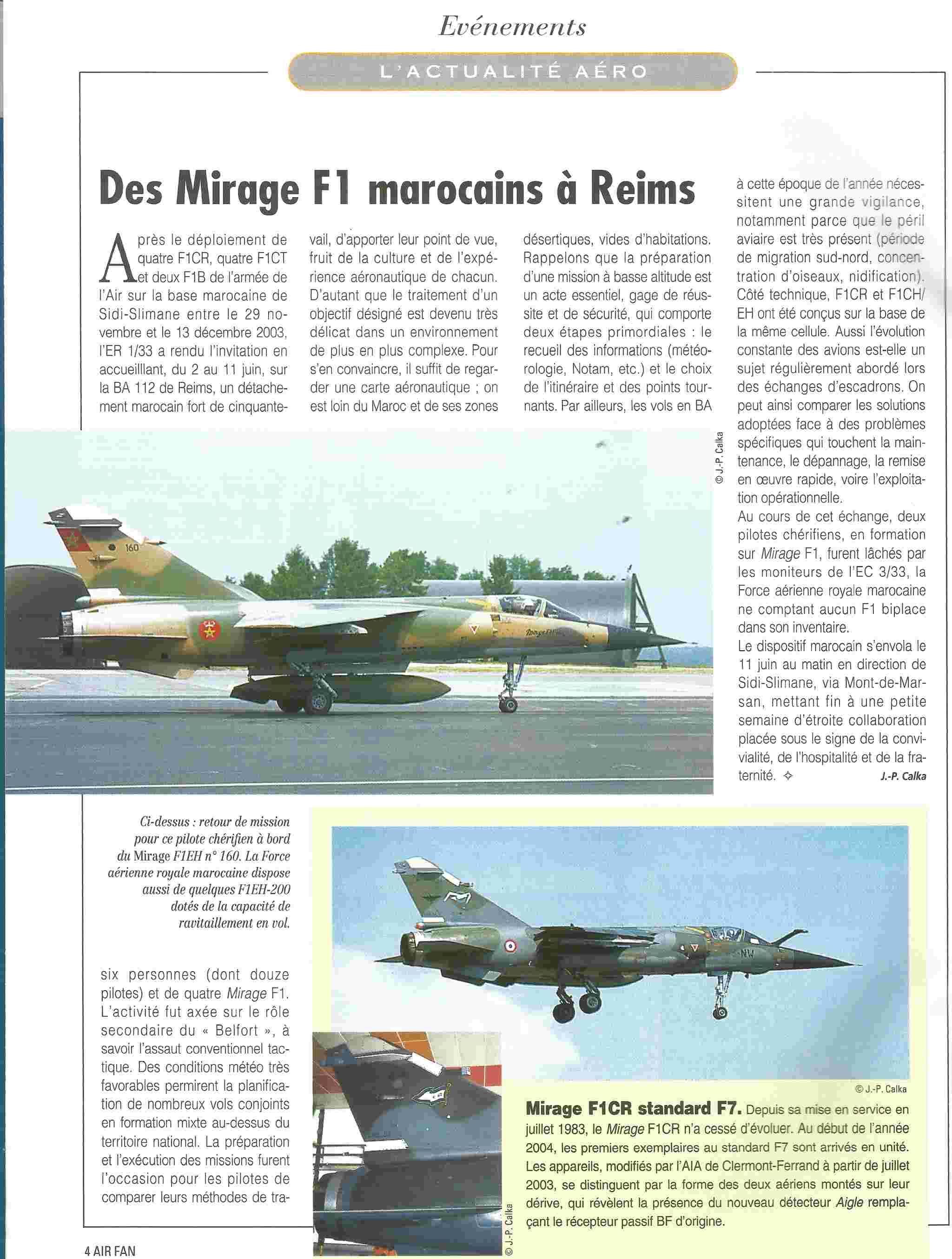 Échanges franco-marocain - Mirage F1 - 2003/2004 000_ai10