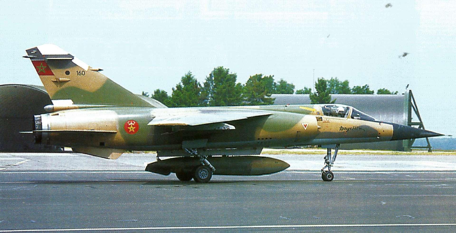 Échanges franco-marocain - Mirage F1 - 2003/2004 16011