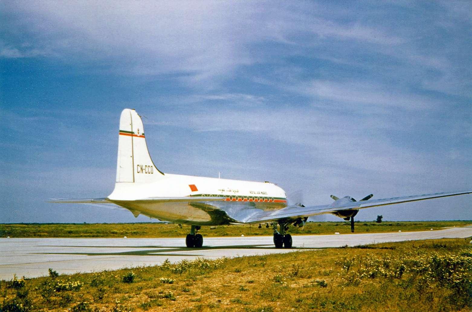Anciens avions de la RAM Clipbo67