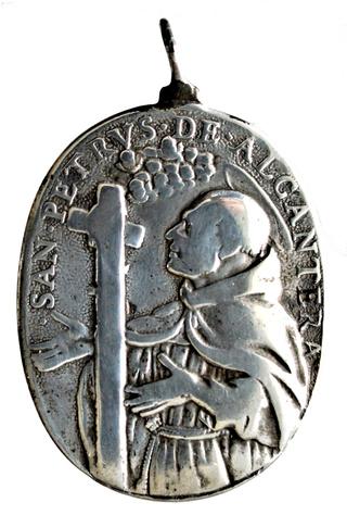 San Pedro d'Alcantara / Inmaculada Concepción (luna esp), S. XVII. (R.M. SXVII-O463) Dsc_2313
