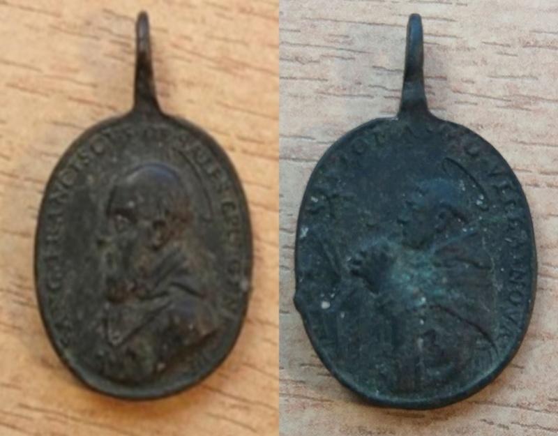 San Francisco de Sales - Santo Tomas de Vilanueva (marca AH, Alberto Hamerani 1620-1677 ) 1469_x10