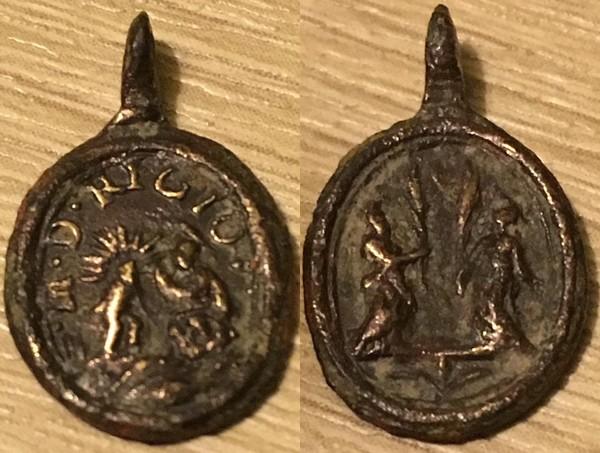 Madonna de la Ghiara de Reggio Emilia / San Crisanto y Santa Daria , S. XVII- MAM 1474_n10