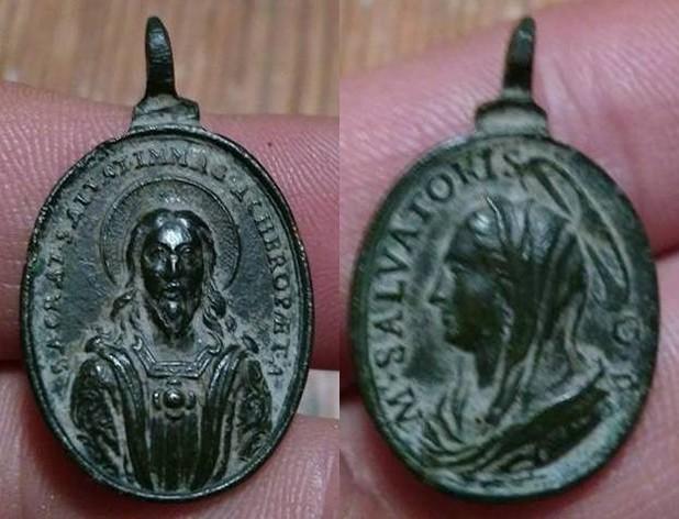 Cristo Salvador Acheropita - Mater Salvatoris XVII-XVIII (R.M. SXVII-O458) 22729010