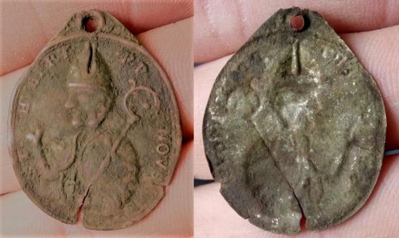 San Huberto de Lieja (bracteada), S. XVII 28872110