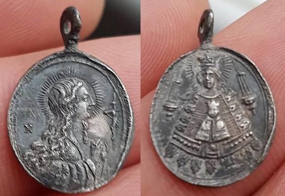 Santa Maria Magdalena  / N.D. de Liesse, (marca N), S. XVIII (R.M. SXVIII-O398) 29571210